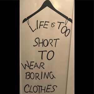 Words to live by !
